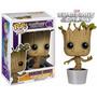 Pop Marvel Guardians Of The Galaxy Dancing Groot Funko