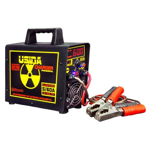 Carregador Usina Spark Charger 5 À 60 Amperes Bi - volt Aut