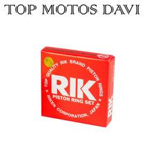 Jogo Anel Pistão Rik Moto Honda Titan 2000 0.75