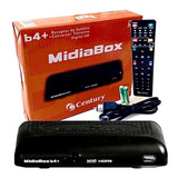 Receptor Conversor Midiabox B4 Parabólicas Uhf Midia Box B4+