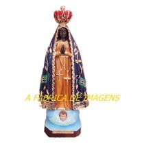 Escultura Nossa Senhora Aparecida Imagem 20cm Fabrica Ml