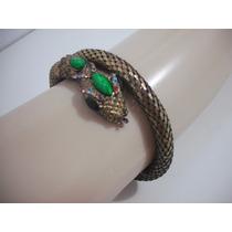 Pulseira Bracelete Metal Cobra Usado Bom Estado