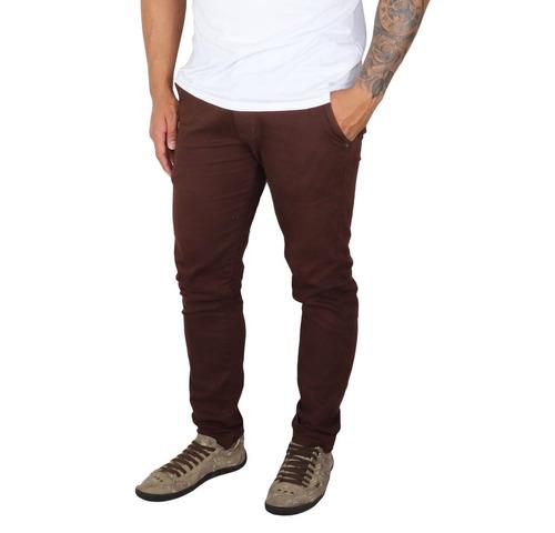552ed0650 Kit 3 Peças Calça Jeans Sarja Masculina Slim Skinny C Lycra