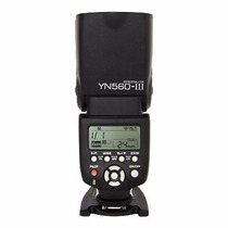 Flash Yongnuo Yn560-iii Para Nikon E Canon + Frete Grátis