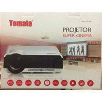 Projetor 3800 Lúmens Tomate 2003 Super Cinema Lançamento