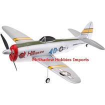 Avião P 47 Thunderbolt - Controle Remoto - Motor Elétrico