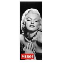 Adesivo 123 Porta Atriz Cinema Marilyn Monroe Mer04
