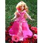Vestido Luxo Princesa Disney Bela P/ Boneca Barbie * Aurora