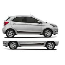 Acessórios Novo Ford Ka 2015 + Kit Adesivo Lateral Esportivo