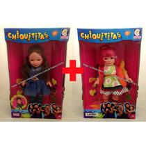 Kit Bonecas Chiquititas Original Cotiplás : Mili + Laurinha