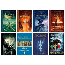 Coleção Percy Jackson & Os Olimpianos (8 Livros) #