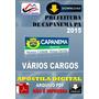 Apostila Digital Pref Capanema Pa Varios Cargos 2015
