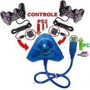 Adaptador Conversor Usb P/ 2 Controles Playstation 1 E 2