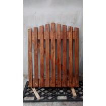 Portão De Madeira Feito De Pallet