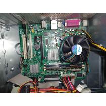 Placa Mãe Intel Desktop Board, D101ggc, Funcionando, Usada
