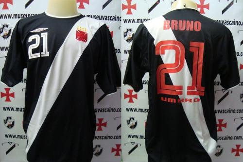 Camisa Oficial Futebol Jogo Vasco Umbro 2003   21 Bruno Rara - R ... f615de07eb85f