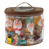 Miniaturas Bonecos Sete Anões Disney Branca De Neve