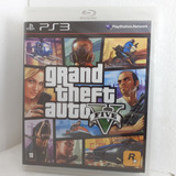 Gta 5 Ps3 Jogo Fisíco Gta V Play 3 Original Grant Theft Auto