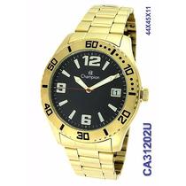Relógio Champion Masculino Dourado Ca31202u (cfsj)