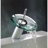 Torneira Cascata Baixa Misturador Monocomando Vidro Banheiro
