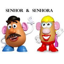 Sr E Sra Cabeça De Batata Potato Head Toy Story Hasbro