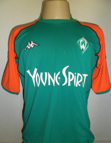Camisa Werder Bremen 2003   2004 Kappa Alemanha Oficial Gg - R  129 ... c51f2a2846795