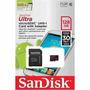 Cartão De Memória Micro Sd 128gb Sandisk Lacrado+leitor Usb
