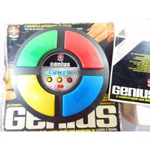 Antigo Brinquedo Genius Estrela Caixa C/ Manual Funcionando!