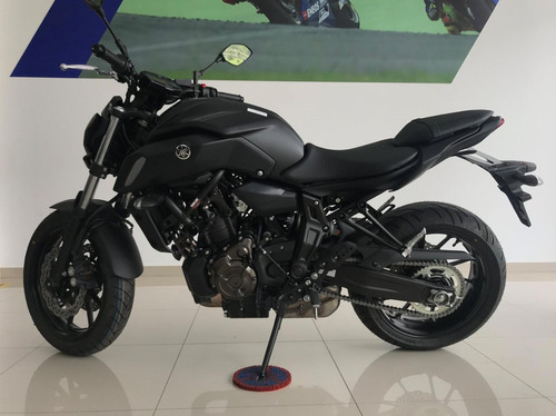 YAMAHA MT-07 ABS PRETA 2020 CDD9988