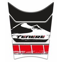 Adesivo Resinado Tankpad Yamaha Ténéré 250 Montanha Vermelho