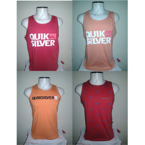 Camiseta Regata Surf Quiksilver - 100% Qualidade Fio 30.1