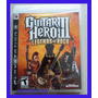 Guitar Hero 3 Playstation 3 Ps3 Guitarralegends Of Rock Novo