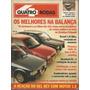 Quatro Rodas 349 1989 Escort 1.8 Ghia Uno 1.5 R Quantum Cl