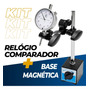 Base Magnética Para Relógio Comparador E Apalpador + Nfe Original