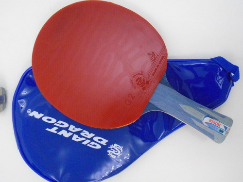 d20fa85ce Raquete Tenis Mesa Super Spin + Butterfly Bol G40+ + Capa