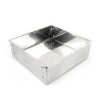 Forma Quadrada Para Bolo 25x8cm Em Aluminio