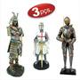 Guerreiro Samurai + Guerreiro Templário + Guerreiro Medieval