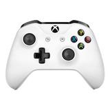 Controle Joystick Microsoft Xbox One Controller + Cable For Windows Branco