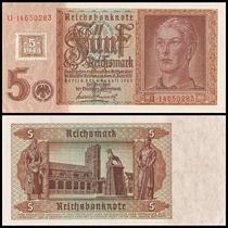 Germany Dem Republic Alemanha P-3 Fe 5 D. Mark 1948 * Q J *