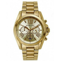 Relógio Michael Kors Mk5605 Feminino Oversize Gold