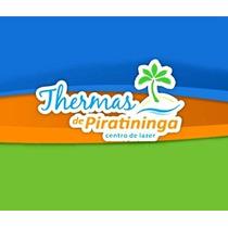 Título Remido Thermas Piratininga - Transferência Grátis