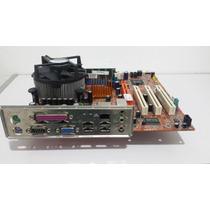 Kit Placa Mãe Itautec St 2141 + 1gb Mem+cooler P4 -630