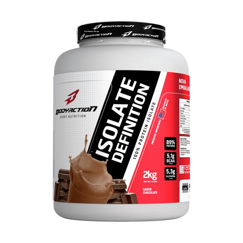 4b60a2098 Whey Protein Isolado Isolate Definition 2kg - Zero Lactose