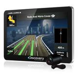 Gps Automotivo Discovery Channel Mtc3842 Tv E Câmera De Ré