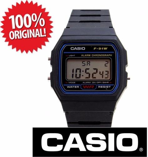 d115fb82782 Relógio Casio F91 Original Frete Grátis - R  98 en Melinterest