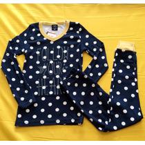 Pijama Infantil Feminino Hering