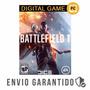 Battlefield 1 Pc Código Cd Key Origin Original Português