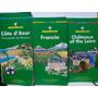 3 Livros Guia Turistica Michelin França Côte D'azur E Outro Original