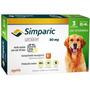 Simparic Combo 80mg P/ Cães 20,1 A 40,0 Kg - 3 Cp (v.05/2019