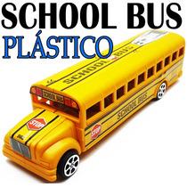 Miniatura Onibus Escolar School Bus Americano Brinquedo